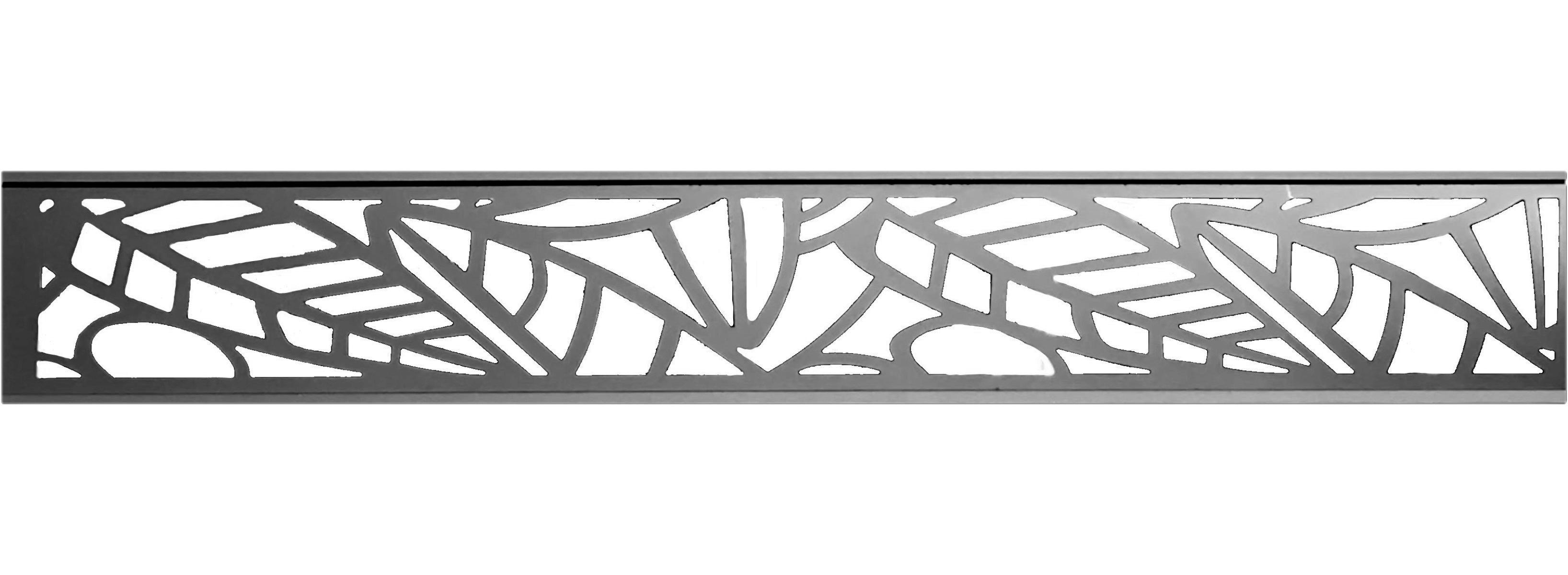 TOMI WPC Aluminium-Dekorationseinsatz für Sichtschutzzäune