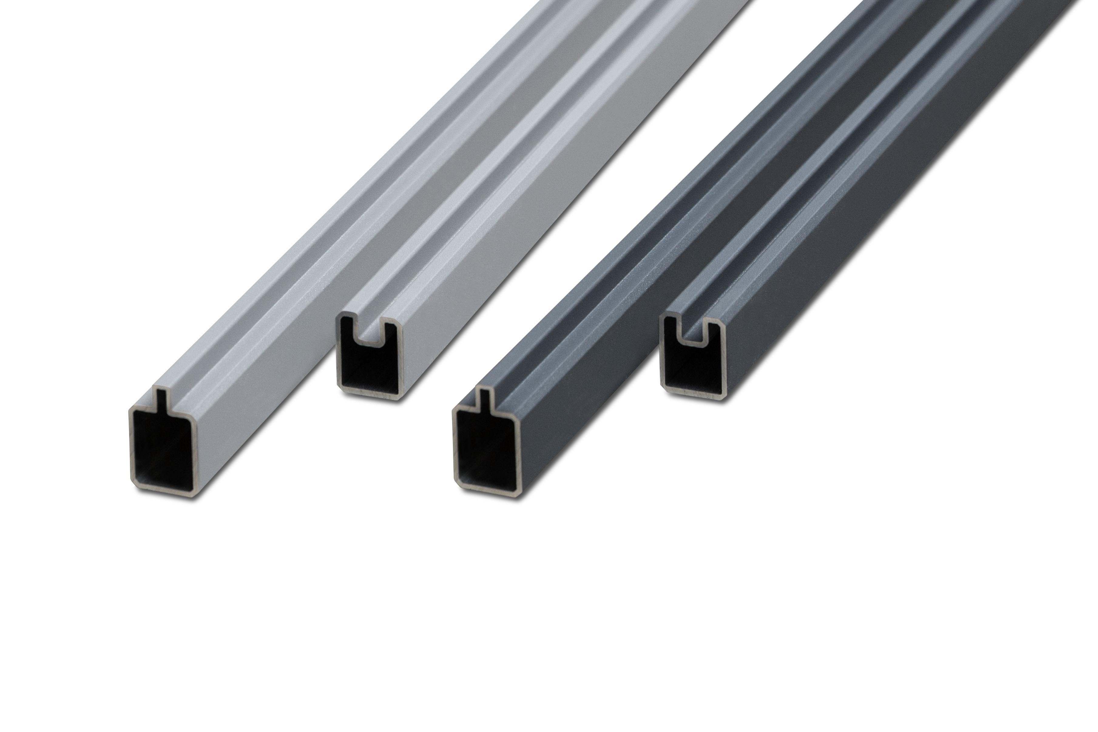 TOMI Premium Line Aluminium Set Anfangs- und Endleiste