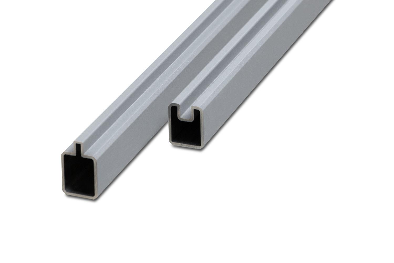 Premium Line / Premium Line Plus Set Anfangs- und Endleiste Aluminium Silber