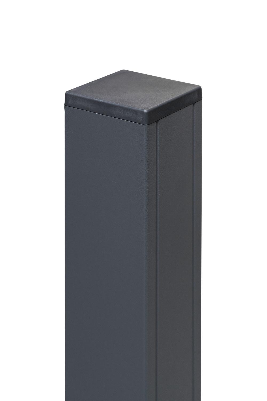 Exclusive / Silver Line Aluminium-Pfosten Anthrazit 185 x 6,8 x 6,8 cm